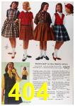 1964 Sears Fall Winter Catalog, Page 404
