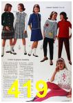 1964 Sears Fall Winter Catalog, Page 419
