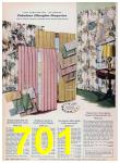 1957 Sears Spring Summer Catalog, Page 701