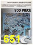 1989 Sears Home Annual Catalog, Page 651