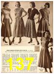 1949 Sears Spring Summer Catalog, Page 137