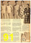 1949 Sears Spring Summer Catalog, Page 91