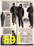 1972 Sears Fall Winter Catalog, Page 891