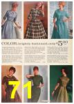 1962 Sears Fall Winter Catalog, Page 71