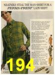 1968 Sears Fall Winter Catalog, Page 194