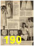 1962 Sears Spring Summer Catalog, Page 190