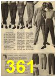 1960 Sears Spring Summer Catalog, Page 361