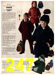 1973 Sears Fall Winter Catalog, Page 247