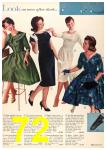 1960 Sears Fall Winter Catalog, Page 72