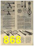 1965 Sears Fall Winter Catalog, Page 868