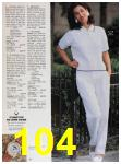 1991 Sears Spring Summer Catalog, Page 104