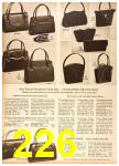 1958 Sears Fall Winter Catalog, Page 226