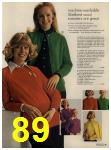 1972 Sears Fall Winter Catalog, Page 89