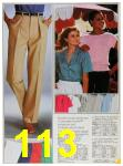 1985 Sears Spring Summer Catalog, Page 113