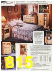1987 Sears Fall Winter Catalog, Page 815
