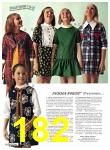 1971 Sears Fall Winter Catalog, Page 182