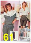 1986 Sears Fall Winter Catalog, Page 61