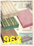 1956 Sears Fall Winter Catalog, Page 968