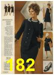 1968 Sears Fall Winter Catalog, Page 182