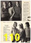 1965 Sears Fall Winter Catalog, Page 110