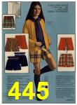 1972 Sears Fall Winter Catalog, Page 445