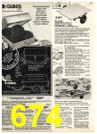 1977 Sears Spring Summer Catalog, Page 674