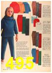 1963 Sears Fall Winter Catalog, Page 495
