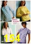 1972 Montgomery Ward Spring Summer Catalog, Page 154