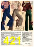1976 Sears Fall Winter Catalog, Page 421
