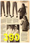 1962 Sears Fall Winter Catalog, Page 390