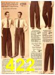 1940 Sears Fall Winter Catalog, Page 422