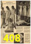 1961 Sears Spring Summer Catalog, Page 408