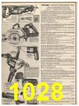 1982 Sears Fall Winter Catalog, Page 1028