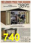 1984 Sears Spring Summer Catalog, Page 740