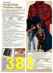 1977 Sears Fall Winter Catalog, Page 383