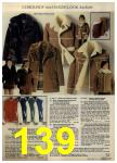 1980 Sears Fall Winter Catalog, Page 139