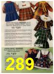 1972 Sears Fall Winter Catalog, Page 289