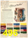 1949 Sears Spring Summer Catalog, Page 496