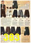 1940 Sears Fall Winter Catalog, Page 383