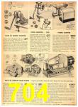 1949 Sears Spring Summer Catalog, Page 704