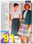 1986 Sears Spring Summer Catalog, Page 91