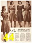 1942 Sears Spring Summer Catalog, Page 44
