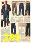 1942 Sears Spring Summer Catalog, Page 289