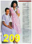 1988 Sears Spring Summer Catalog, Page 209