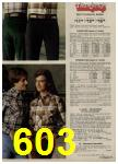 1979 Sears Fall Winter Catalog, Page 603