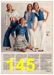 1974 Sears Spring Summer Catalog, Page 145