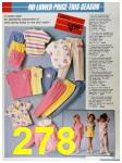 1986 Sears Spring Summer Catalog, Page 278