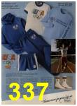 1984 Sears Spring Summer Catalog, Page 337