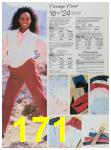 1988 Sears Fall Winter Catalog, Page 171