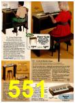 1977 Sears Christmas Book, Page 551